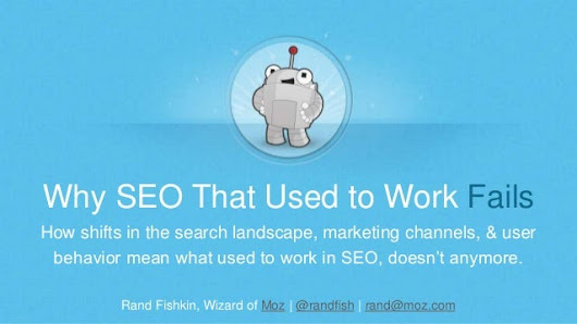 Why SEO That Used to Work, Fails