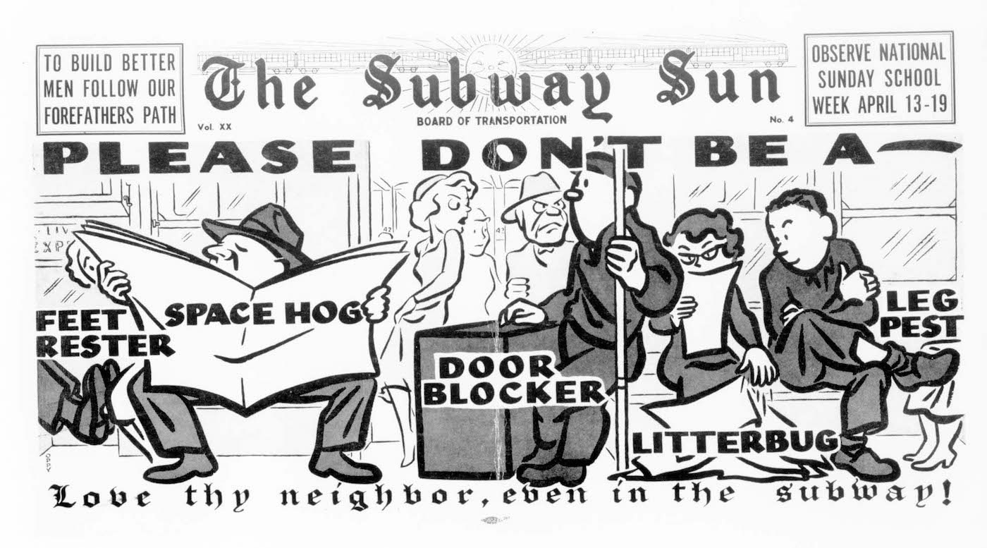Subway Sun, NYC, 1953