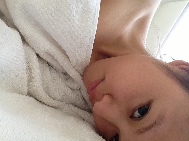 after massage