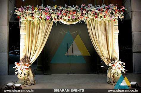 Wedding and Reception Door Entrance Decorations in