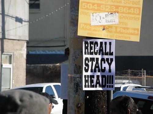 Recall Stacy Head!!!