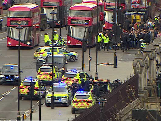 Police officer wounded in shooting incident outside Parliament