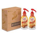 Coffee mate Liquid Coffee Creamer, Hazelnut, 1.5 Liter Pump Bottle, 2/Carton (NES31831CT)