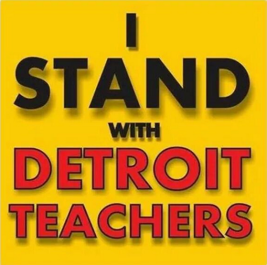 Pay Detroit's Educators for their Work