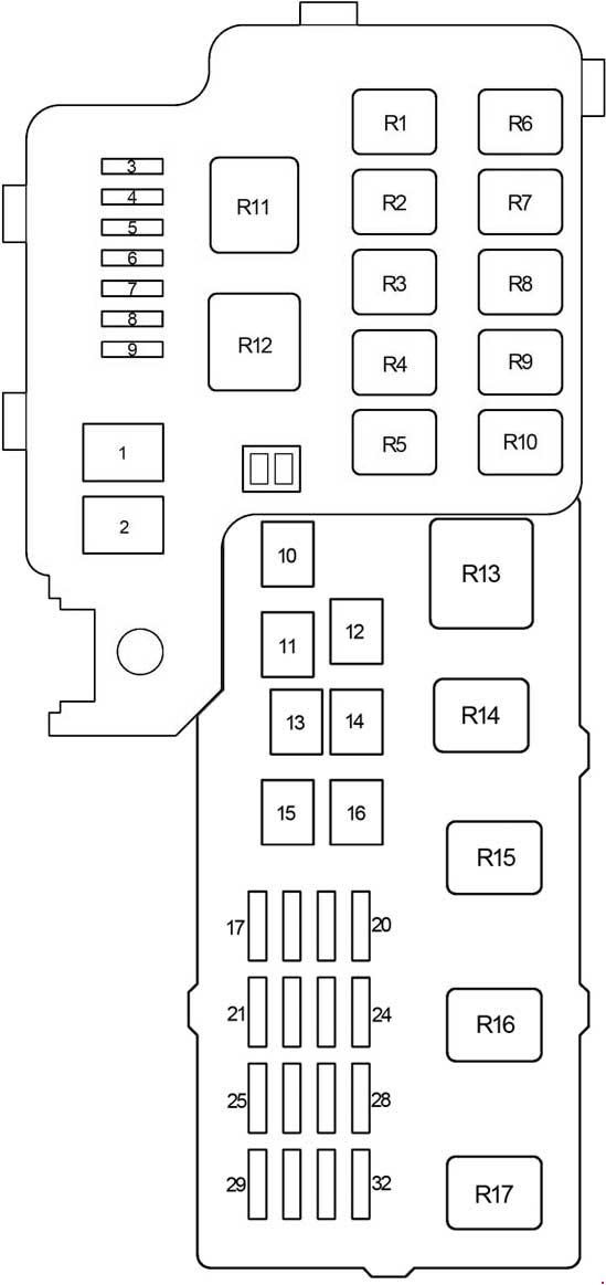 2002 camry fuse box diagram  fuse wiring