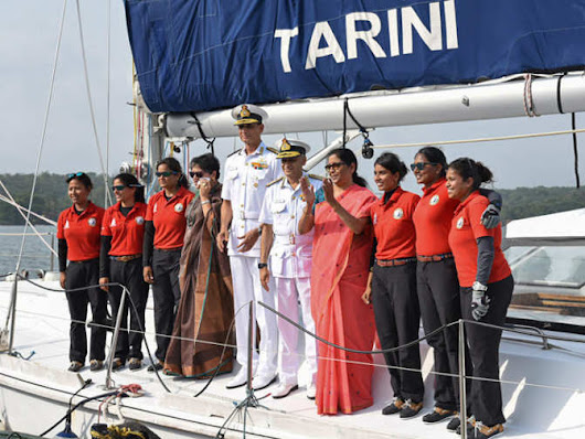 Braving seas' terrors, snags, women sailors complete global voyage
