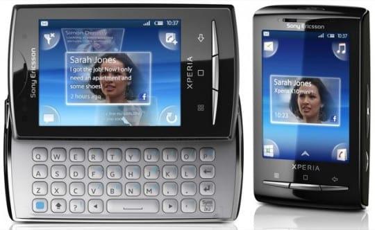 sony ericsson xperia x10i mini pro. Vídeo Sony Ericsson X..