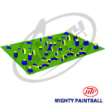 Mighty Paintball UMP-TN-7PRO MP Paintball Bunker Package - 7 Man Pro Tourney Field