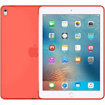 "Authentic Apple Silicone Back Case MM262AM/A Apricot for 9.7"" iPad Pro & Air 2"
