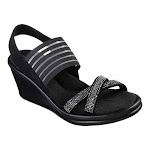 Women's Skechers Rumblers-Modern Maze Wedge Sandal