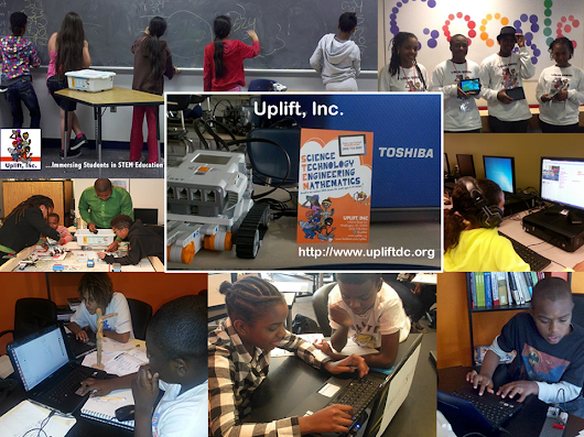 Uplift, Inc. - a 501c3 nonprofit Immersing Students in STEAM+CS Education!