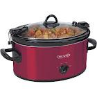 Crock-Pot SCCPVL600-R Red 6 Qt. Cook & Carry Slow Cooker