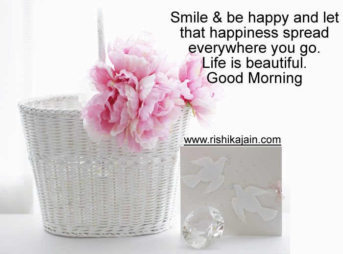 Good Morninglife Is Beautiful Inspirational Quotes Pictures