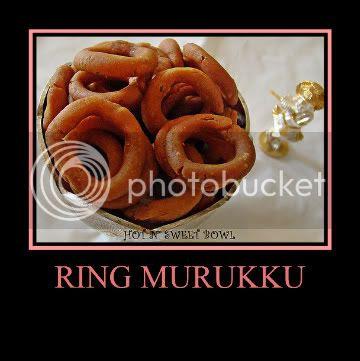 Ring Murukku / Chekodi / Kodubale