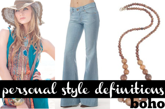 Personal style definitions: Boho - Working mom style advice: Frantic But Fabulous