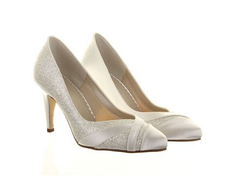Wide Fit Wedding Shoes Mila Rainbow Club Dyeable Bridal Shoes