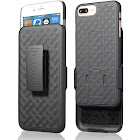 Aduro iPhone 8 Plus/iPhone 7 Plus Holster Case, Combo Shell & Holster Case Super Slim Shell Case w/Built-in Kickstand + Swivel Belt Clip Holster for