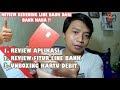 Review Line Bank Kartu Debit Fitur Hana Bank