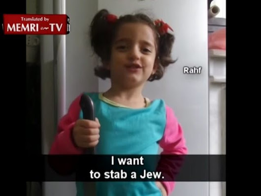 'I Want to Stab a Jew,' Knife-Wielding Girl Tells Father In Video