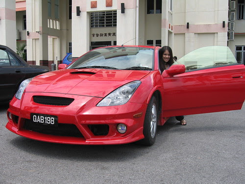 red Celica