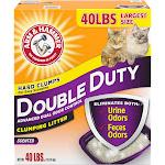 Arm & Hammer Double Duty Clumping Litter, 40lb