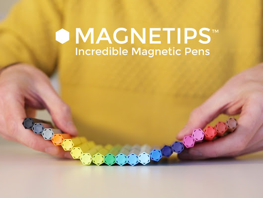 MAGNETIPS™ - Incredible Magnetic Pens! by Typica —  Kickstarter