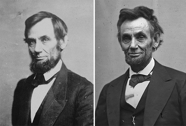 presientes estados unidos antes y despues Lincoln (2)