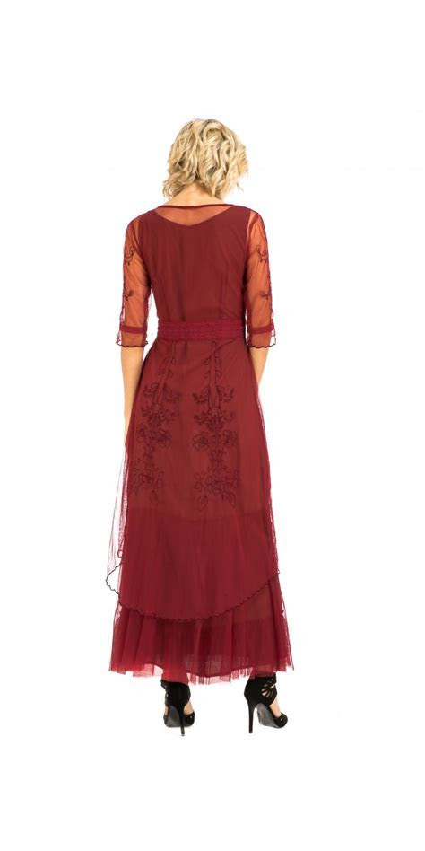 Nataya CL 201 Party Dress in Berry