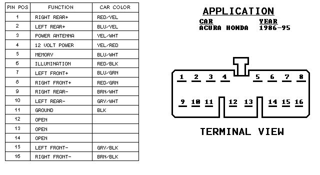 Acura Integra Stereo Wiring Diagram HP PHOTOSMART PRINTER