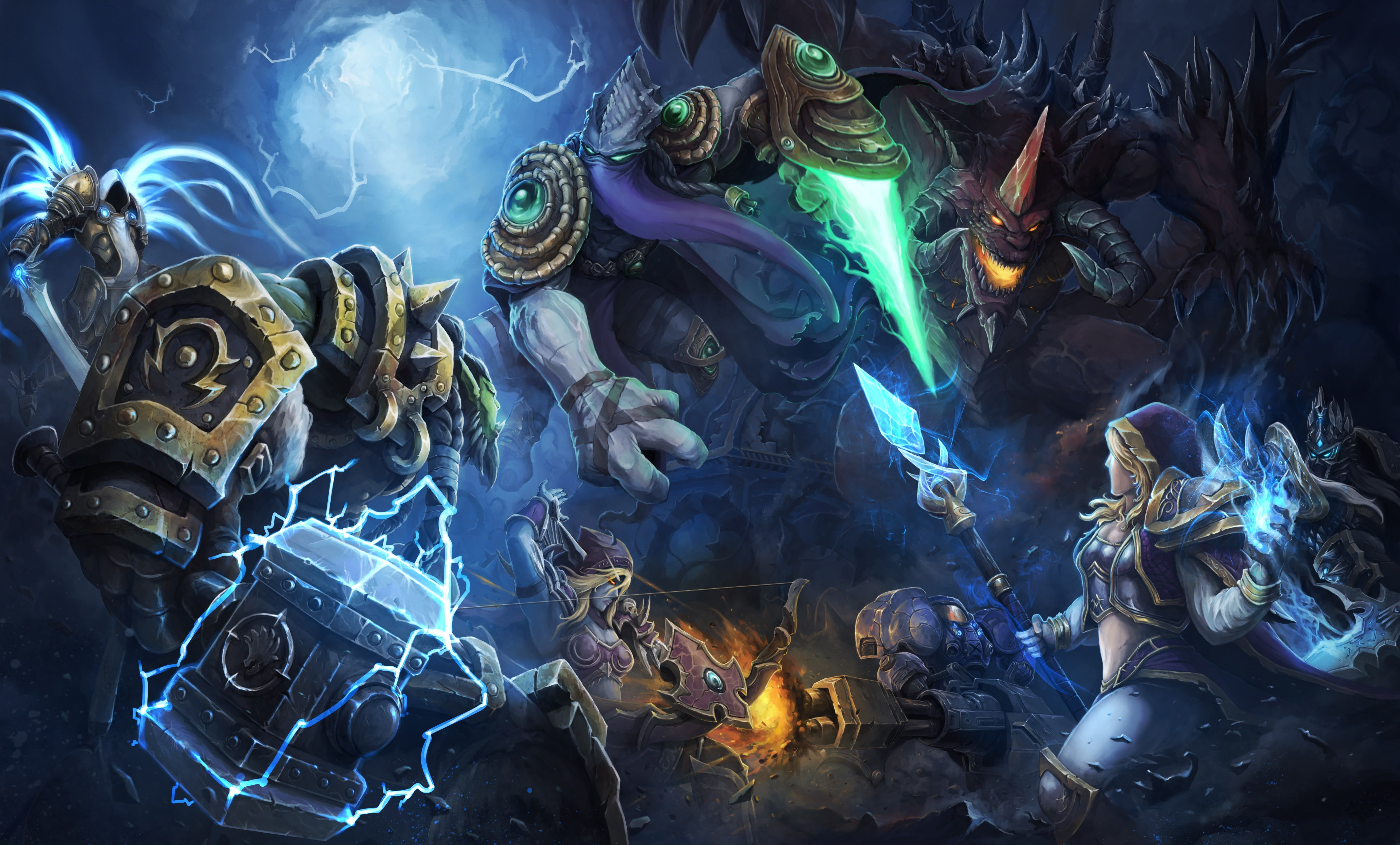 Heroes Of The Storm 4k Ultra Hd Wallpaper High Quality Walls