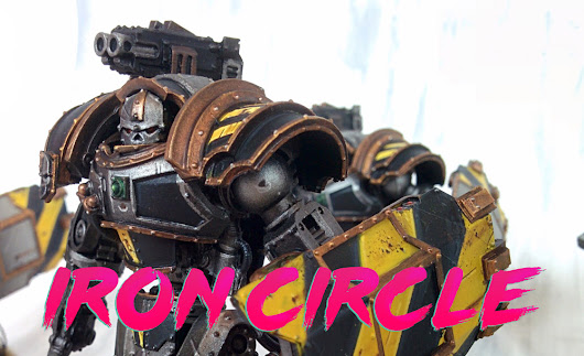 Commission: Iron Warriors Iron Circle - Paint Water Diaries