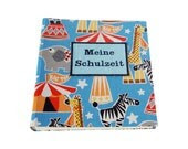 Photo album for enrollment with a substance with circus motifs - scatoli