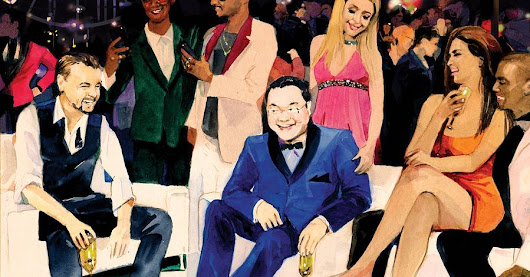 The Billion-Dollar Mystery Man and the Wildest Party Vegas Ever Saw - WSJ