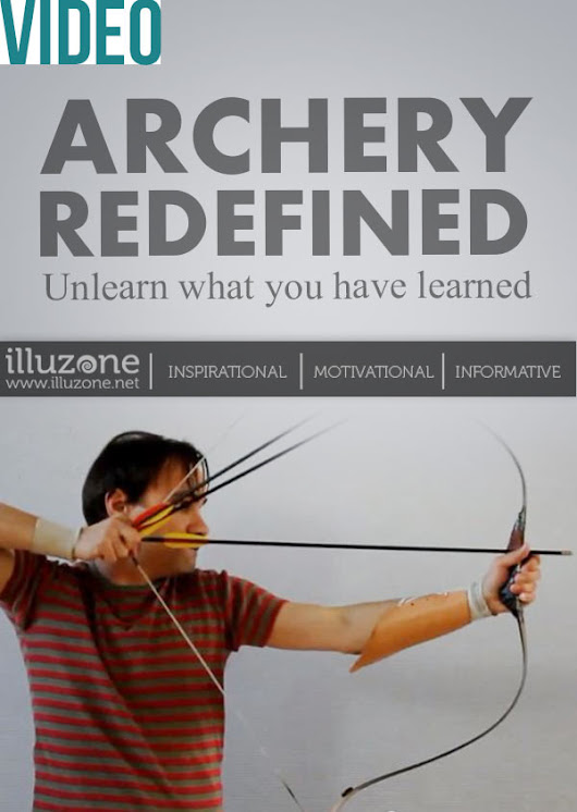 Everything you know about archery is a lie. This guy proves it  - Illuzone
