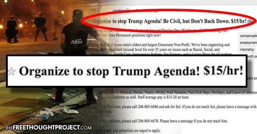 BREAKING: Soros Caught Red-Handed Funding Anti-Trump Protests, Paying Protesters $15/hr