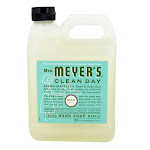 Mrs. Meyers Clean Day Liquid Hand Soap Refill, Basil - 33 Oz