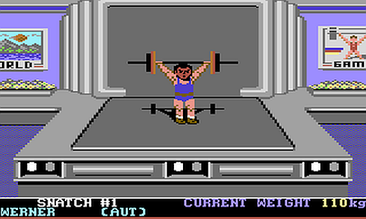 Old Games Revisited: World Games C64 | AUSRETROGAMER