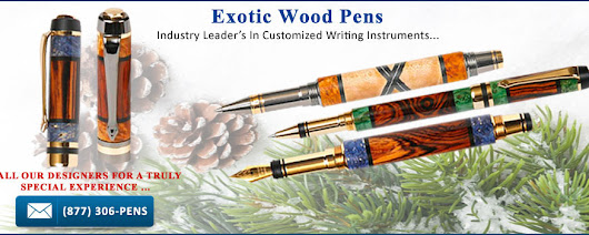 Custom Fountain Pens and Handcrafted Wooden Pens | Lanier Pens