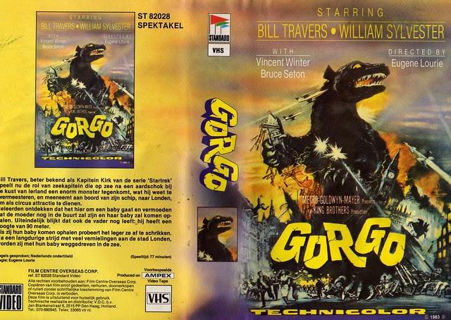 Gorgo (VHS Box Art)