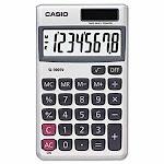 Casio SL-300SV Handheld Calculator, 8-Digit LCD Display (CSOSL300SV)