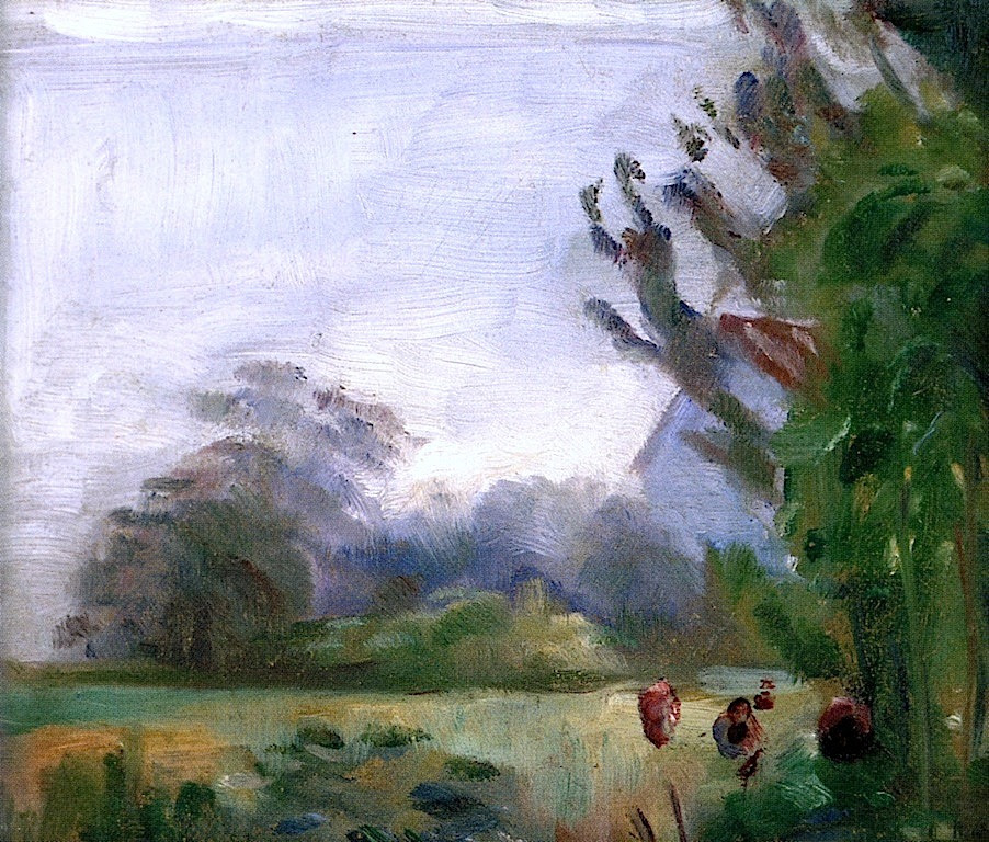 Study of a Landscape Edvard Munch - 1881