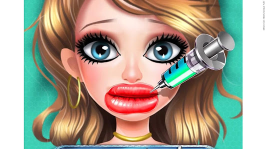 Parents push back on plastic surgery game apps - CNN