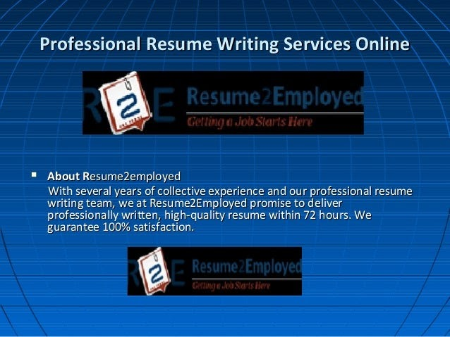 25 Best Professional Resume Writing Services Online Best Resume Examples