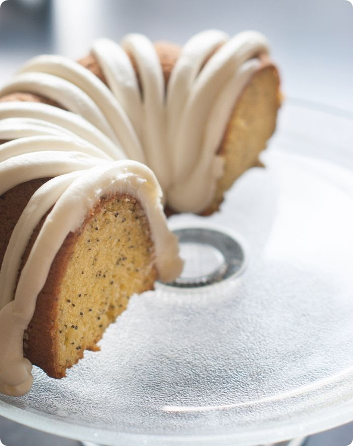lemon poppyseed bundt cake recipe for a half birthday