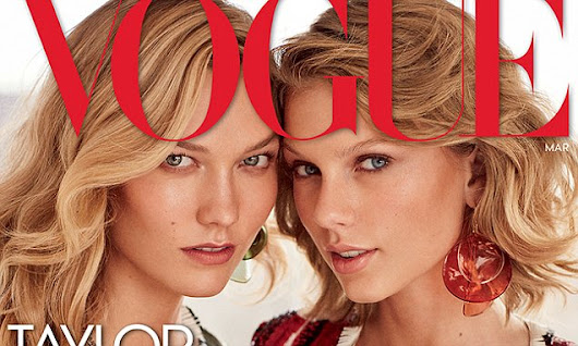 Taylor Swift and best friend Karlie Kloss cover new issue of Vogue