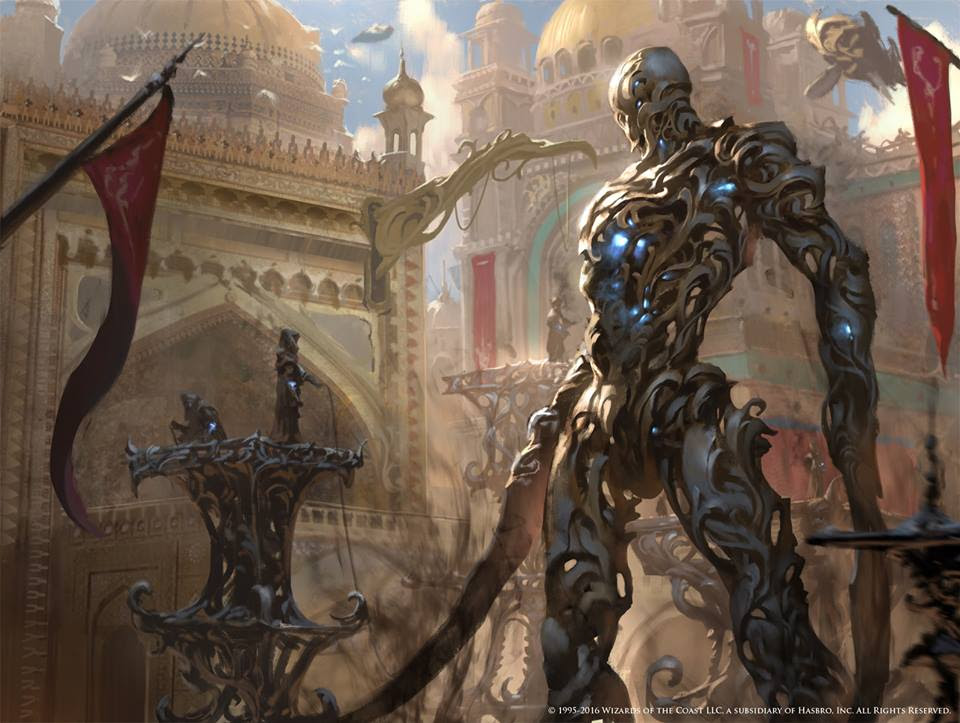 Image result for noxious gearhulk mtg masterwork art