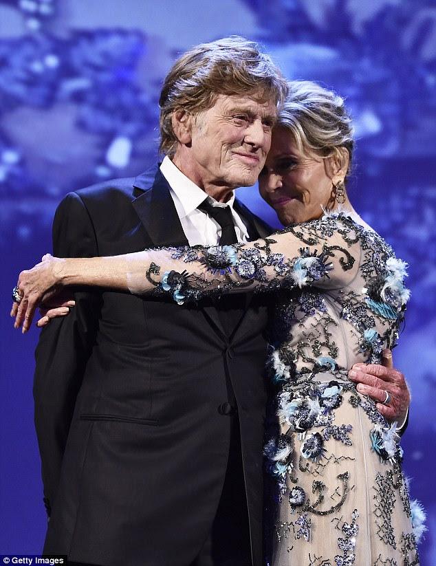 Câncer: Fonda admitiu atrevidamente que desejava sua cena sexual em sua última colaboração. Nossas Almas À Noite duraram mais