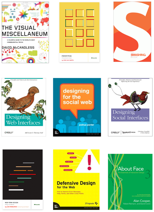 Essential Books for User Interface Designers