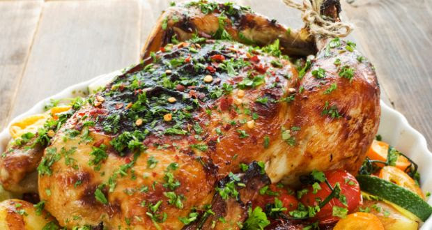 Sunday Chicken Roast Recipe Ndtv Food