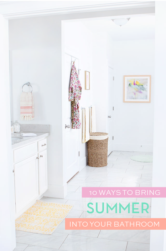 Bringing Summer into Master Bathroom Plans | Armelle Blog